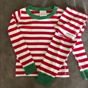 Hannah Andersson Red/Green Christmas Pjs